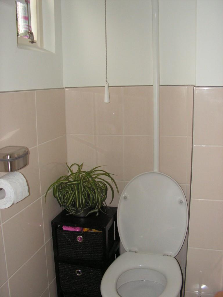 toilet na de renovatie