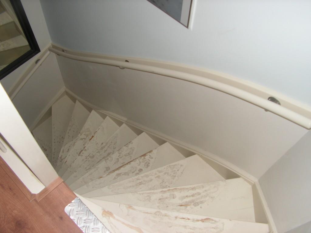 trap voor de renovatie